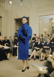 Dior fashion model Alla wearing