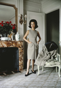 Lee Radziwill in Dior1960© 2013 Mark Shaw - Image 3956_1197