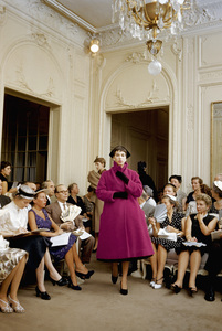 Dior fashion model Victoire wearing