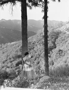 Fashion model (Greer dress)1948© 1978 John Engstead - Image 3956_1256
