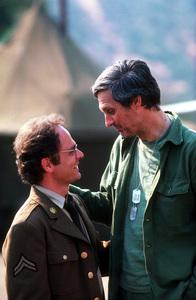"""M.A.S.H""Alan Alda, Gary Burghoff""Radar Last Show""1979 CBS © 1979 GuntherMPTV - Image 3958_0083"