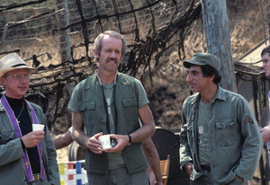 """""""M*A*S*H""""William Christopher, Mike Farrell, Jamie Farr1979 © 1979 Gunther - Image 3958_0108"""