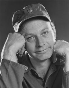 """""""M.A.S.H."""" Larry Linville1972Photo by Gabi Rona - Image 3958_0148"""