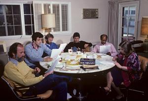 """M*A*S*H"" (writing room)1972© 1978 Gene Trindl - Image 3958_0149"
