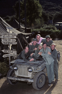 """M*A*S*H""David Ogden Stiers, Harry Morgan, Mike Farrell, Jamie Farr, Loretta Swit, Alan Alda, William Christopher1982© 1982 Mario Casilli - Image 3958_0177"