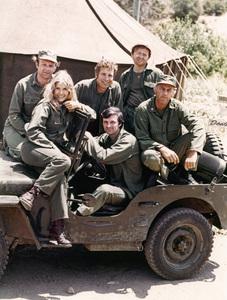 """M*A*S*H""Larry Linville, Wayne Rogers, Gary Burghoff, Loretta Swit, Alan Alda, MacLean Stevenson1972 - Image 3958_0178"