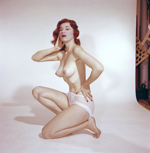 Pin-ups / Nudes (Melody Ward)circa 1957 © 1978 David Sutton - Image 3959_0507