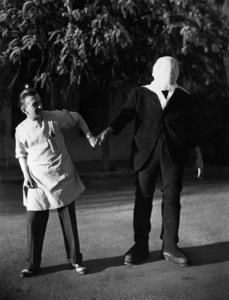 """Frankenstein""Jack P. Pierce, Boris Karloff1931 Universal Pictures** I.V. - Image 3963_0084"