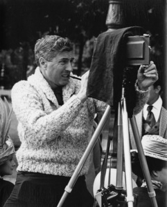 """Photographer Mel Traxel in Paris during the making of """"The Great Race""""1965 - Image 3967_0030"""
