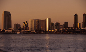 Scenic / San Diego, California skyline from Coronado Island2001 © 2001 Ron Avery - Image 3969_0023