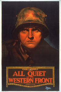 """""""All Quiet on the Western Front""""Poster1930 Universal**I.V. - Image 4017_0003"""