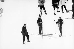 Jacqueline Kennedy in Aspen, Colorado circa 1969© 1978 Gunther - Image 4027_0039