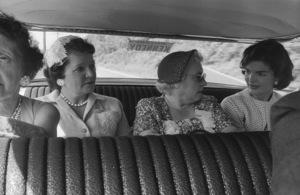 Jacqueline Kennedy in Wheeling, West Virginia 1959 © 2000 Mark Shaw - Image 4027_0101