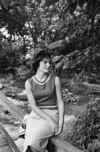 Jacqueline Kennedy in Georgetown1959© 2012 Mark Shaw - Image 4027_0155