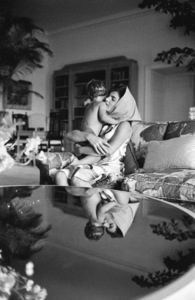 Jacqueline Kennedy and John Kennedy Jr. in Palm Beach, Florida1963© 2012 Mark Shaw - Image 4027_0176