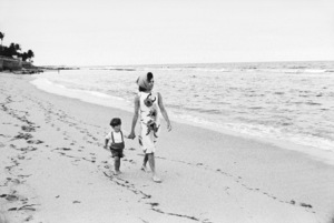 John Kennedy Jr. and Jacqueline Kennedy in Palm Beach, Florida1963© 2012 Mark Shaw - Image 4027_0187