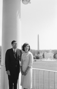 John F. Kennedy and Jacqueline Kennedy in April of 1961© 2012 Mark Shaw - Image 4027_0194