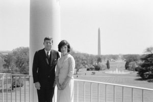 John F. Kennedy and Jacqueline Kennedy in April of 1961© 2012 Mark Shaw - Image 4027_0195