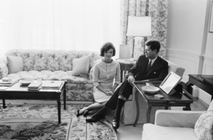 John F. Kennedy and Jacqueline Kennedy in April of 1961© 2012 Mark Shaw - Image 4027_0196