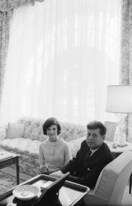 John F. Kennedy and Jacqueline Kennedy in April of 1961© 2012 Mark Shaw - Image 4027_0197