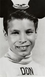 "Don Grady as a Walt Disney ""Mousketeer""1957 - Image 4030_0004"