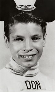 "Don Grady as a Walt Disney ""Mousketeer""1957 - Image 4030_0004"