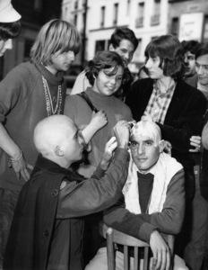 "Hippies (""The New Breed of Parisian Beatniks"")July 1966 - Image 4102_0015"