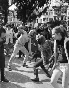 Hippies (Golden Gate Park, Haight-Ashbury district, San Francisco, California)June 1967 - Image 4102_0017