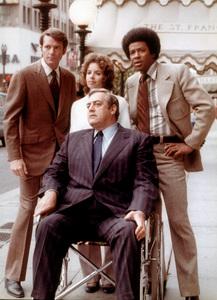 """""""Ironside""""D. Galloway, E. Baur, R. Burr, D. Mitchell1971 NBCPhoto by Herb BallMPTV - Image 4116_0032"""