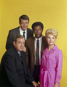 """Ironside""Raymond Burr, Don Galloway, Don Mitchell, Barbara Andersoncirca 1967Photo by Herb Ball - Image 4116_0043"