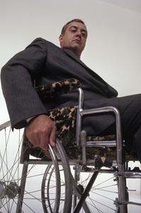 "Raymond Burr in ""Ironside""1967© 1978 Mario Casilli - Image 4116_0100"