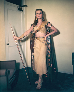 """Samson and Delilah""Angela Lansbury behind the scenes.1949 Paramount**I.V. - Image 4161_0011"