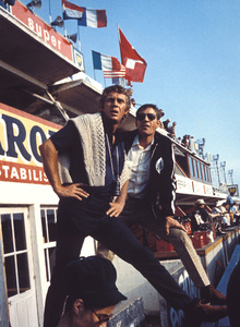 """""""Le Mans""""Steve McQueen on location during filming1971 Solar Productions © 1978 Mel TraxelMPTV - Image 4170_0003"""