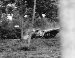 """Le Mans""Car Crash, Ferrari 512S1971 Solar Productions - Image 4170_0014"