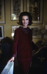 Lee Radziwill in St. Laurent fashion1962 © 2000 Mark Shaw - Image 4178_0005