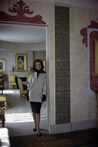 Lee Radziwill in St. Laurent fashion1962 © 2000 Mark Shaw - Image 4178_0007