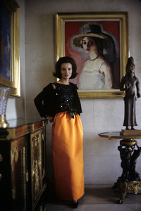 Lee Radziwill in St. Laurent fashion1962 © 2000 Mark Shaw - Image 4178_0009