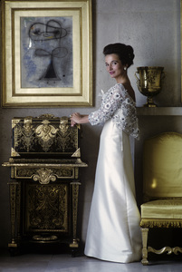 Lee Radziwill in Lanvin gown1962 © 2000 Mark Shaw - Image 4178_0025