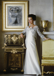 Lee Radziwill in Lanvin gown 1962 © 2000 Mark Shaw - Image 4178_0029