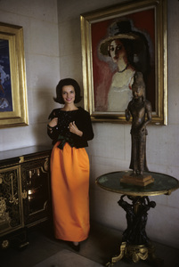 Lee Radziwill in St. Laurent fashion1962 © 2000 Mark Shaw - Image 4178_0039