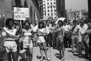 Strippers picketingcirca 1960s© 1978 David Sutton - Image 4185_0007