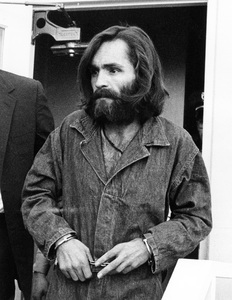 Charles Manson arriving at Inyo County Courthouse1969 - Image 4203_0020