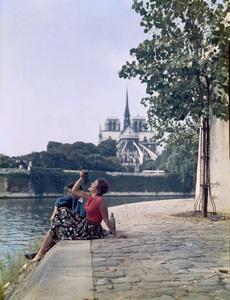 Model in Paris, Francecirca 1950s© 1978 Paul Hesse - Image 4236_0004