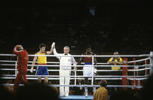 Olympics (boxing finals)1984© 1984 Ron Avery - Image 4271_0024
