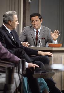 """The Joey Bishop Show""Gene McCarthy, Joey Bishop1969 © 1978 Gunther - Image 4288_0001"