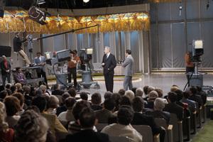 """The Joey Bishop Show""Regis Philbin, Eugene McCarthy, Joey Bishop1969© 1978 Gunther - Image 4288_0003"