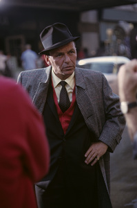 """Frank Sinatra on the set of """"Come Blow Your Horn""""1963© 1978 Ted Allan - Image 4302_0042"""