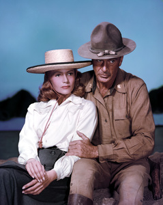 """They Came to Codura""Gary Cooper, Rita Hayworth1959 ColumbiaPhoto by Robert Coburn Jr.** I.V. - Image 4320_0001"