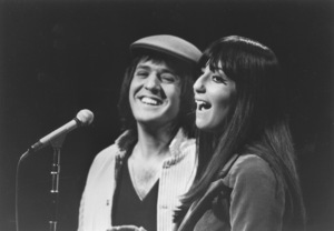 """""""Shindig"""" Sonny and Cher Performing, 1965 © 1978 Chester Maydole - Image 4327_0001"""