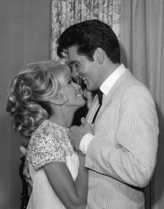"Nancy Sinatra and Elvis Presley in ""Speedway""1968** B.L. - Image 4332_0012"